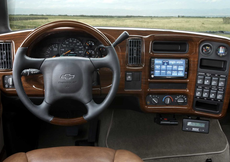 2021 Chevrolet Kodiak Interior
