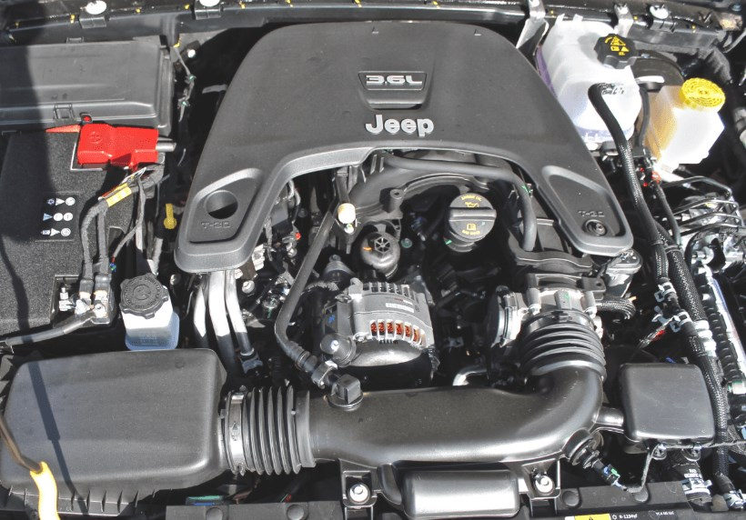 2021 Jeep Gladiator Engine